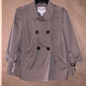 American Rag 🍄 brown lightweight swing jacket